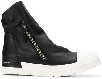 Cinzia Araia ankle length zipped sneakers