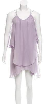 Haute Hippie Silk Chiffon Dress