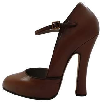 Marc Jacobs Beige Leather Heels