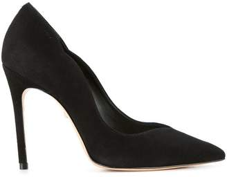 Schutz pointed toe pumps