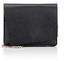 Valextra Women's Twist Mini Leather Crossbody - Black