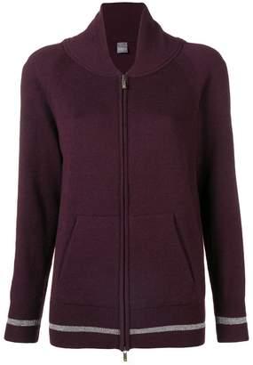 Lorena Antoniazzi knit bomber jacket
