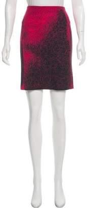 Cédric Charlier Scribble Print Mini Skirt
