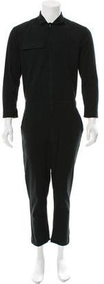 Oak Woven Elasticized Jumpsuit $125 thestylecure.com