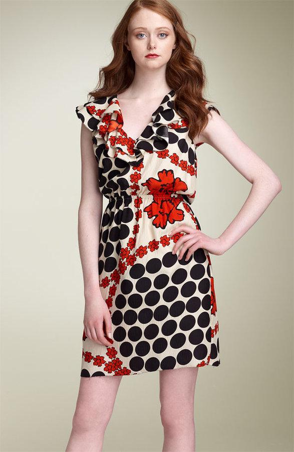 Leifsdottir 'Abbey Rose' Silk Dress