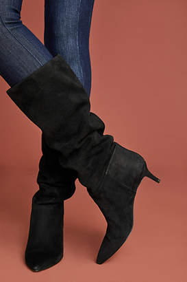 Steve Madden Kirby Kitten-Heeled Tall Boots
