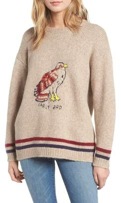 Mother The Jumper Early Bird Alpaca Blend Sweater