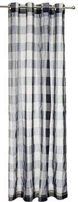 Lorraine Home Fashions 09570-84-00220 Courtyard Grommet Window Curtain Panel