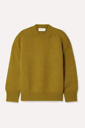 Mansur Gavriel Wool Sweater - Mustard