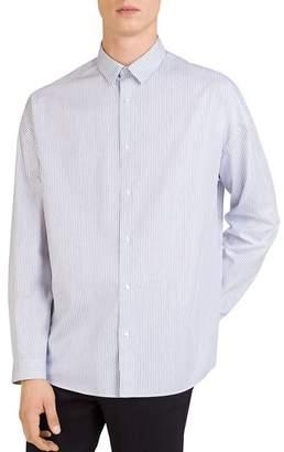 The Kooples Brera Lux Regular Fit Button-Down Shirt