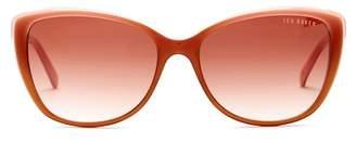 Ted Baker 57mm Cat Eye Acetate Frame Sunglasses