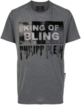 Philipp Plein slogan printed T-shirt