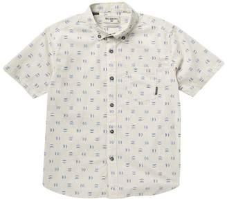 Billabong Sundays Mini Short Sleeve Shirt (Big Boys)