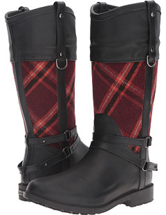 Chooka Chooka Canter Plaid Riding Rain Boot