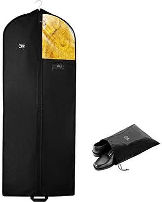 Luxury Garment Bag Cover and Shoe Bag | 60 inch Long