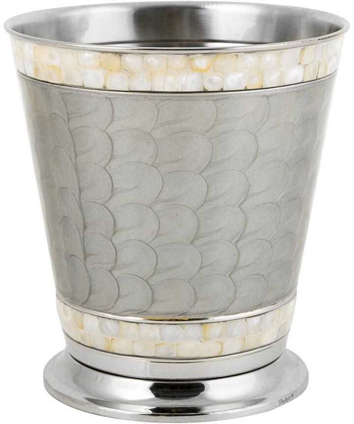 Classic Waste Basket - Platinum