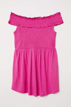 H&M MAMA Off-the-shoulder Top - Pink