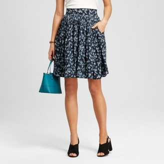 Merona Women's Printed Pleat Skirt $17.99 thestylecure.com