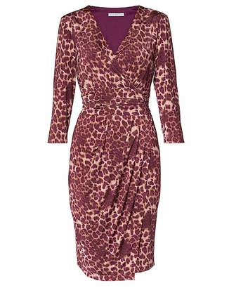 Gina Bacconi Nikoleta Print Jersey Dress