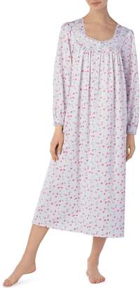 Eileen West Brushed Back Satin Nightgown
