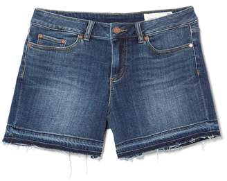 Vince Camuto Denim Frayed-hem Shorts