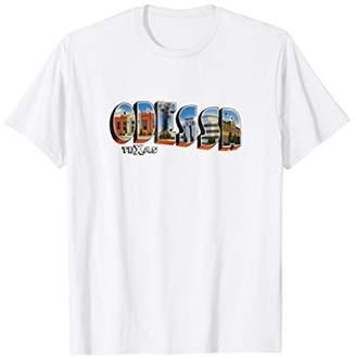 Texas Shirt Odessa Tshirt Men and Women Retro Vintage