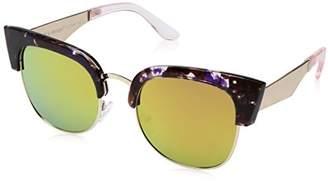 A. J. Morgan A.J. Morgan Women's Wings Rectangular Sunglasses