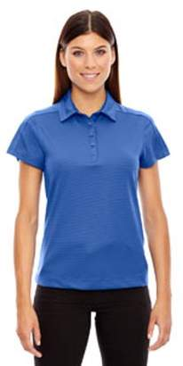 Ash City - North End Sport Red Ladies' Symmetry UTK cool?logik Coffee Performance Polo - NAUTICL BLUE 413 - XS 78676