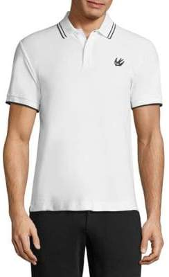 McQ Swallow Cotton Polo