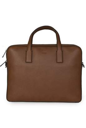HUGO BOSS Crosstown Slim Doc Briefcase