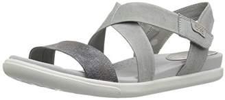 Ecco Women's Damara Strap Sandal Gladiator Wild Dove