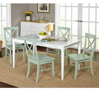 Target Marketing Systems Albury 5-Piece Cross Back Dining Set, Multiple Colors
