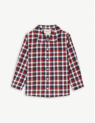 Gucci Checked cotton shirt 12-18 months