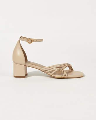 af60bd9230b Nude & Silver Strappy Sandal - ShopStyle UK