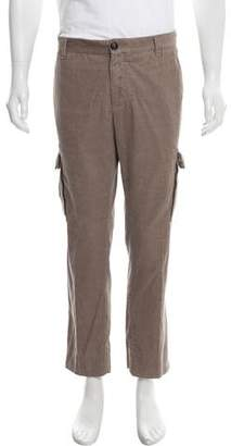 Brunello Cucinelli Cropped Corduroy Cargo Pants