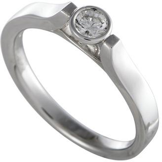 Luca Carati 18K 0.22 Ct. Tw. Diamond Ring