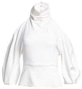 3aab32f86d35ed Cushnie et Ochs Women s Cold Shoulder Top