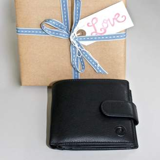 Chapel Cards Leather Wallet ~ Rfid Protected