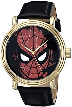 Marvel Men's W001769 Spider-Man Analog-Quartz Black Watch