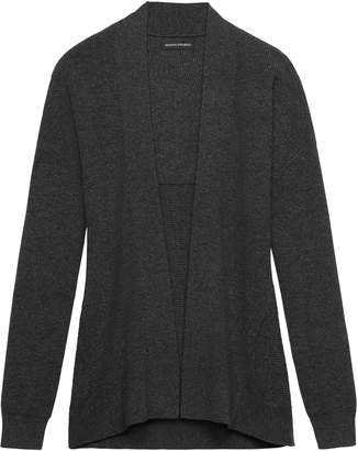 Banana Republic Feather-Touch Ribbed Cardigan