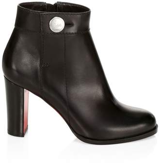 Christian Louboutin Janis 85 Leather Ankle Boots