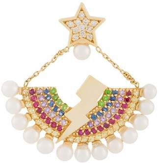 Anton Heunis star and lightning bolt earring