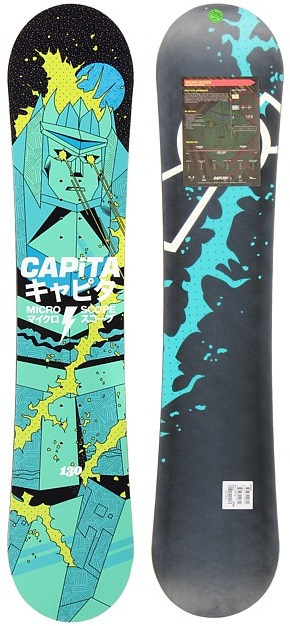Capita - Micro-Scope Youth 130 (One Color) - Accessories