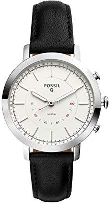 Fossil Q Women's Neely Stainless Steel and Leather Hybrid Smartwatch