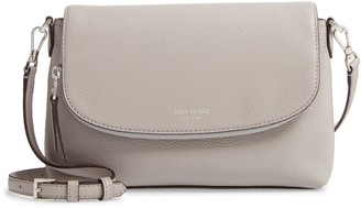Kate Spade Large Polly Leather Crossbody Bag