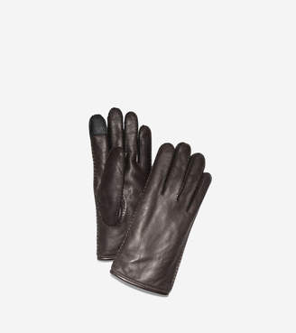 Cole Haan Snap Button Gloves