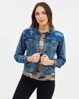 Polo Ralph Lauren Patchwork Denim Trucker Jacket