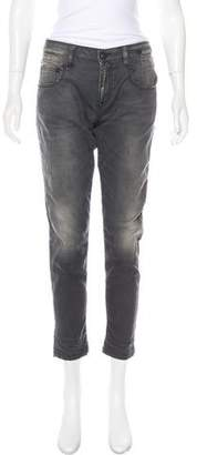 R 13 Mid-Rise Straight-Leg Jeans