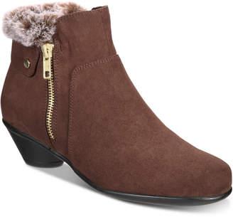 Karen Scott Ursah Cone-Heel Booties, Women Shoes