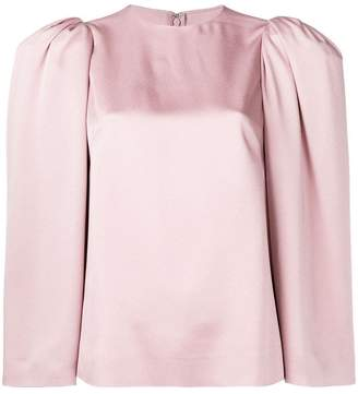 Valentino structured shoulder cady top